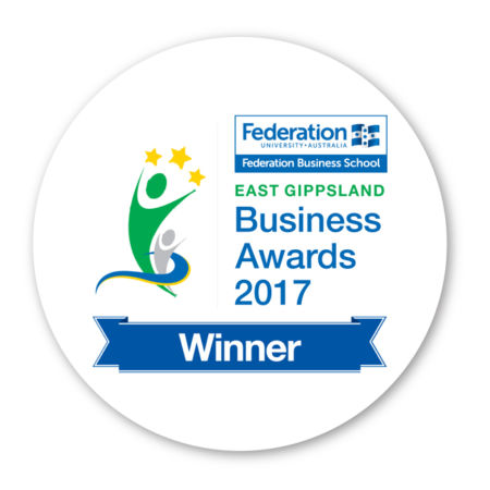 Winner East Gippsland Business Awards 2017